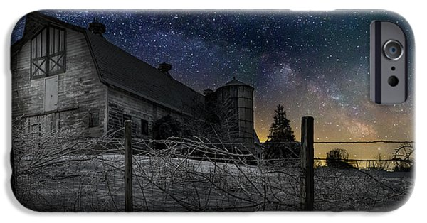 IPhone 6 Case featuring the photograph Interstellar Farm by Bill Wakeley