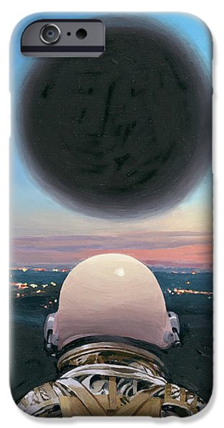 Into The Void IPhone 6 Case by Scott Listfield