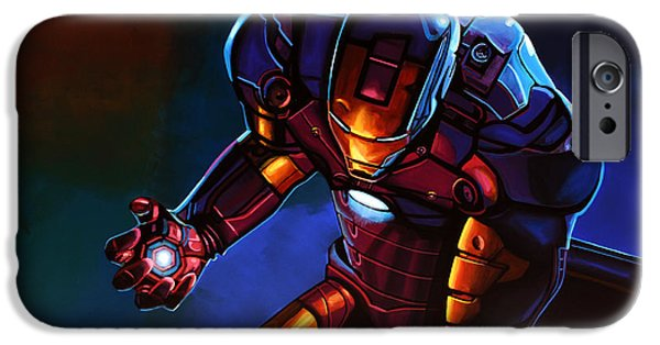 20th iPhone 6 Case - Iron Man by Paul Meijering