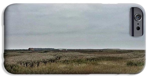 Sky iPhone 6 Case - It's A Grey Day In North Norfolk Today by John Edwards