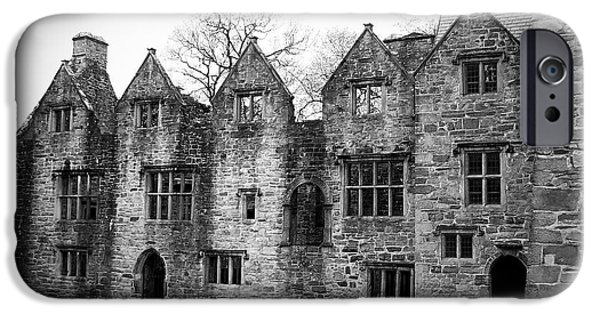 Historic Ruins iPhone Cases - Jacobean Wing at Donegal Castle Ireland iPhone Case by Teresa Mucha