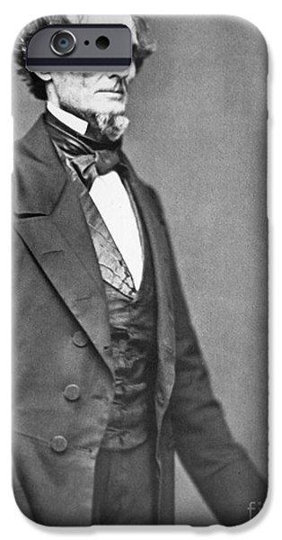 President Photographs iPhone Cases - Jefferson Davis iPhone Case by American Photographer