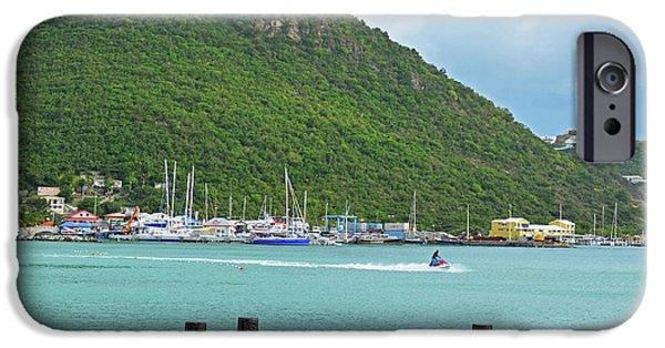 Jet Ski iPhone 6 Case - Jet Ski On The Lagoon Caribbean St Martin by Toby McGuire