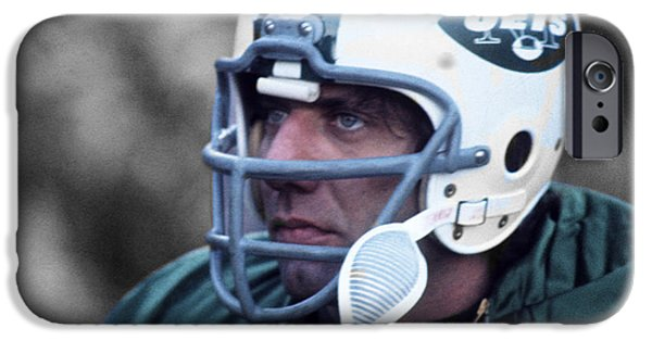 10d008985 Joe Namath iPhone 6 Case - Joe Willie Namath by Jan Blaustein