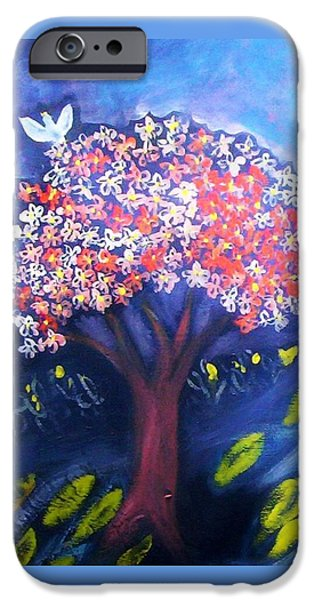 IPhone 6 Case featuring the painting Joy by Winsome Gunning