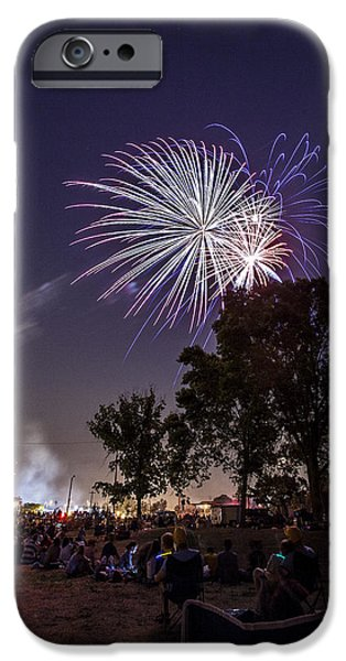 Best Sellers -  - 4th July Photographs iPhone Cases - July 4th 2012 iPhone Case by CJ Schmit