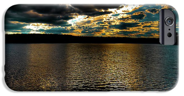IPhone 6 Case featuring the photograph June Sunset On Nicks Lake by David Patterson