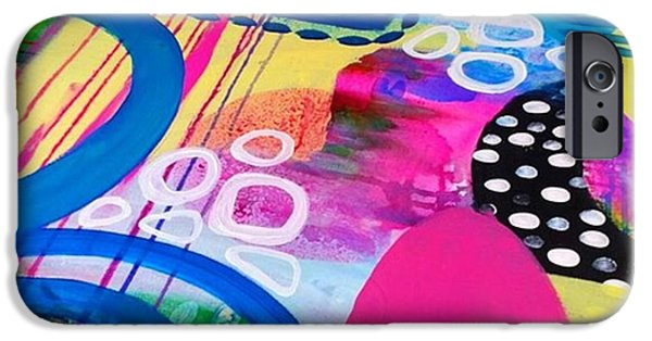 iPhone 6 Case - Just Playin Around With Paints Today by Robin Mead