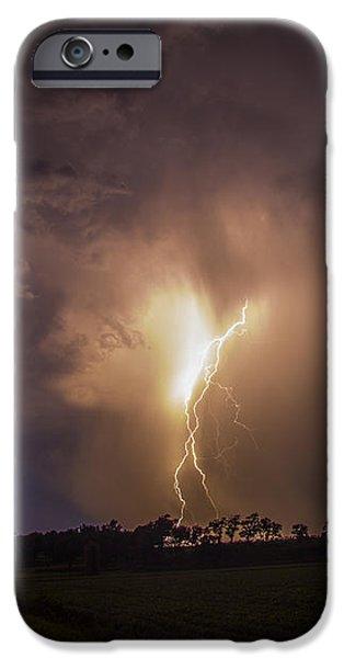 Nebraskasc iPhone 6 Case - Kewl Nebraska Cg Lightning And Krawlers 014 by NebraskaSC