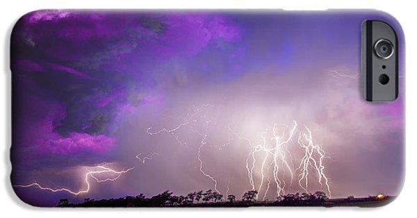 Nebraskasc iPhone 6 Case - Kewl Nebraska Cg Lightning And Krawlers 038 by NebraskaSC