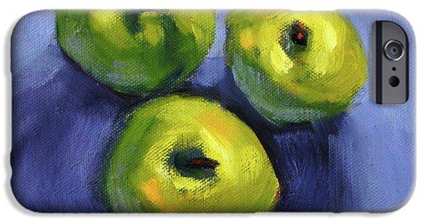 Kitchen Pears Still Life IPhone 6 Case by Nancy Merkle