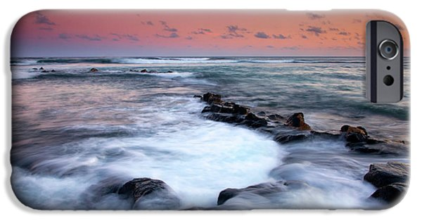 Ebb iPhone Cases - Koloa Sunset iPhone Case by Mike  Dawson