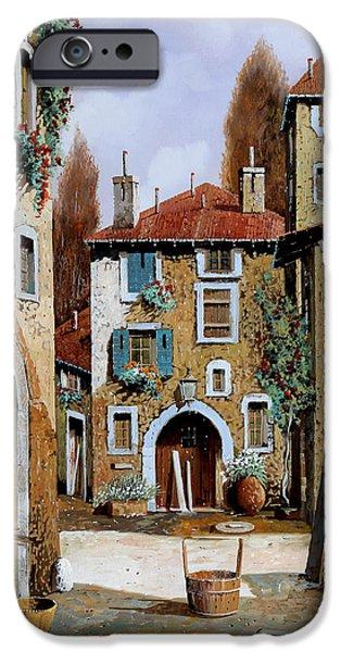 Village iPhone 6 Case - La Piazzetta by Guido Borelli
