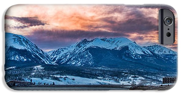 IPhone 6 Case featuring the photograph Lake Dillon by Sebastian Musial