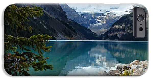 Lake iPhone 6 Case - Lake Louise 2 by Larry Ricker