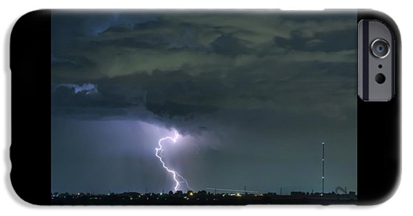 IPhone 6 Case featuring the photograph Landing In A Storm by James BO Insogna