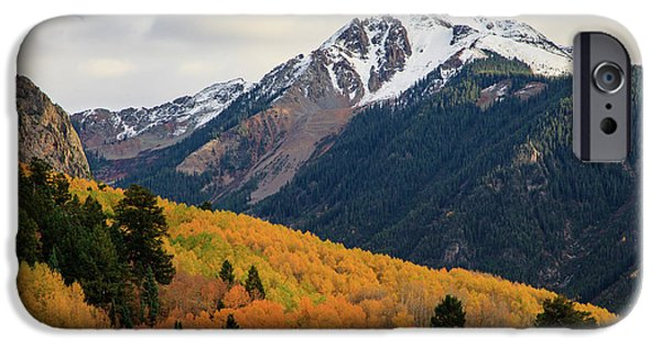 Last Light Of Autumn IPhone 6 Case by David Chandler