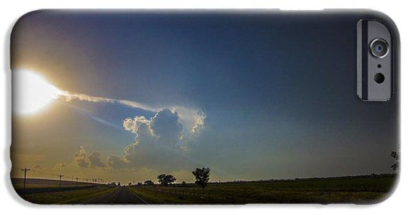 Nebraskasc iPhone 6 Case - Last Nebraska Supercell Of The Summer 009 by NebraskaSC