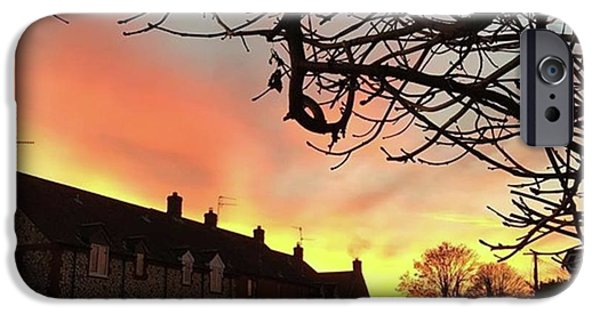 Sky iPhone 6 Case - Last Night's Sunset From Our Cottage by John Edwards