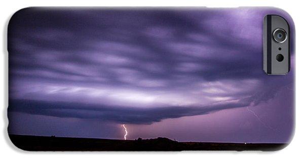 Nebraskasc iPhone 6 Case - Late July Storm Chasing 033 by NebraskaSC