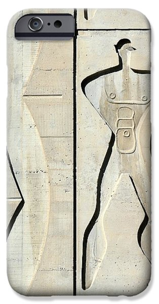 Proportions iPhone Cases - Le Corbusier Design iPhone Case by Chris Hellier