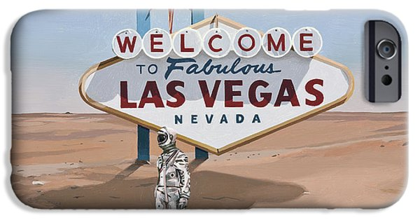 Leaving Las Vegas IPhone 6 Case by Scott Listfield