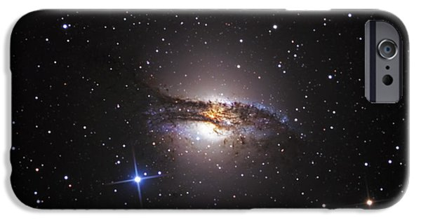 Recently Sold -  - Stellar iPhone Cases - Lenticular Galaxy Centaurus A iPhone Case by R Jay GaBany