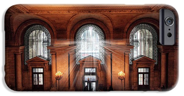 IPhone 6 Case featuring the photograph Library Entrance by Jessica Jenney