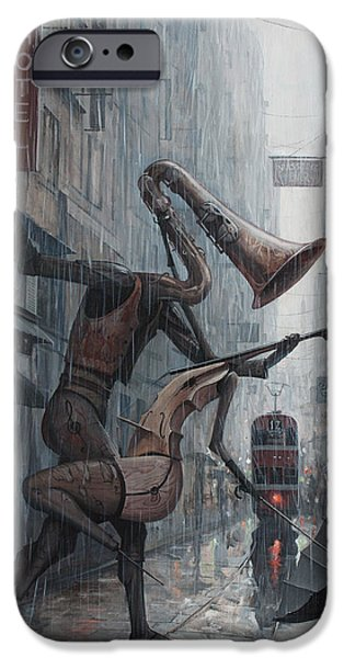 iPhone 6 Case - Life Is  Dance In The Rain by Adrian Borda