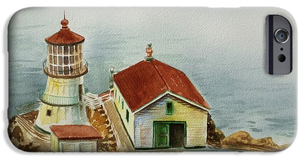 Lighthouse Point Reyes California IPhone 6 Case