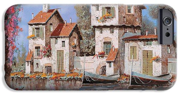 Village iPhone 6 Case - Lilla by Guido Borelli