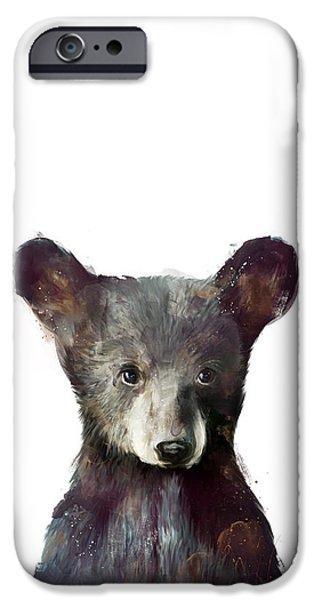 Wildlife iPhone 6 Case - Little Bear by Amy Hamilton