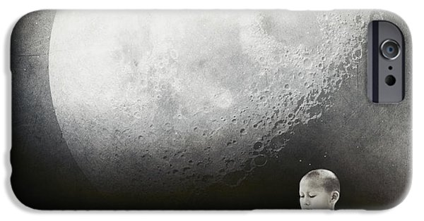 Buddhism iPhone 6 Case - Little Buddha by Jacky Gerritsen