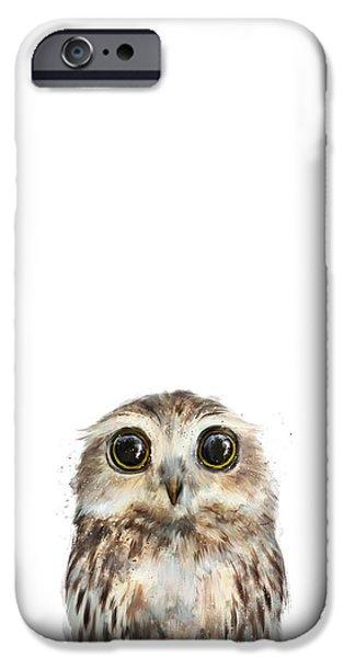 Wildlife iPhone 6 Case - Little Owl by Amy Hamilton