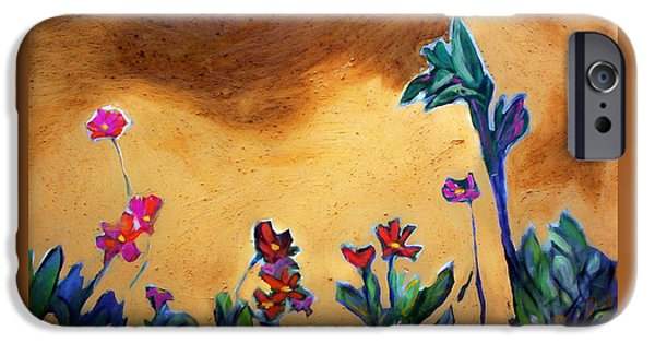 IPhone 6 Case featuring the painting Living Earth by Winsome Gunning