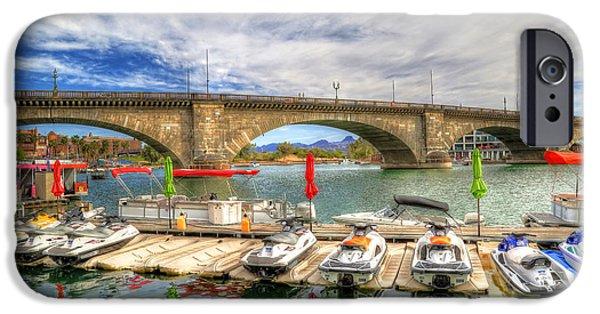 Jet Ski iPhone 6 Case - London Bridge View by Donna Kennedy