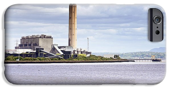 IPhone 6 Case featuring the photograph Longannet Power Station by Jeremy Lavender Photography
