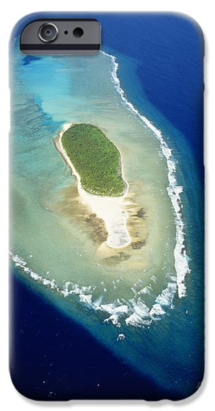 Warner Park iPhone Cases - Losiep Atoll iPhone Case by Mitch Warner - Printscapes