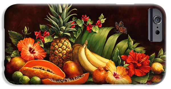 Smoothie iPhone 6 Case - Lots Of Fruit by Laurie Snow Hein