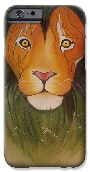 Lovelylion IPhone 6 Case by Anne Sue