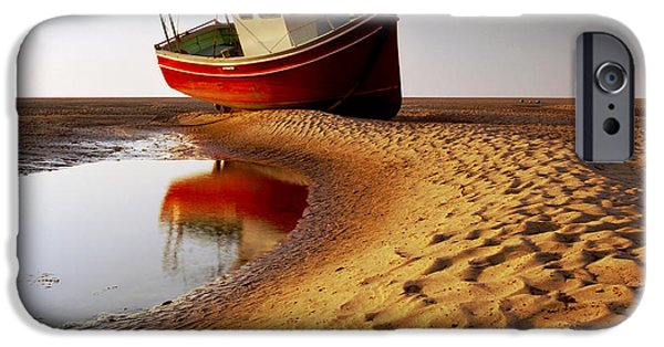 Low Tide iPhone Cases - Low Tide iPhone Case by Peter OReilly