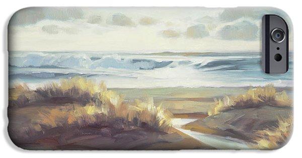 Pacific Ocean iPhone 6 Case - Low Tide by Steve Henderson