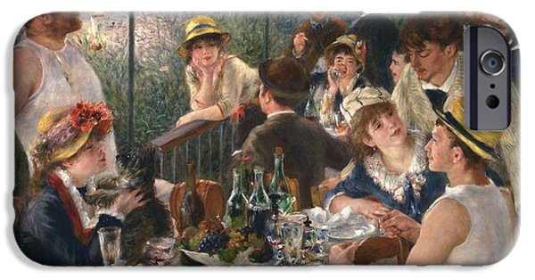 Luncheon Of The Boating Party By Renoir IPhone 6 Case