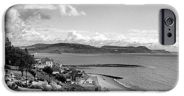 Sky iPhone 6 Case - Lyme Regis And Lyme Bay, Dorset by John Edwards