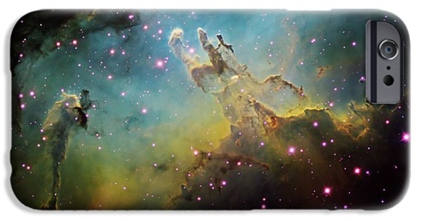 Best Sellers -  - Stellar iPhone Cases - M16 The Eagle Nebula iPhone Case by Ken Crawford