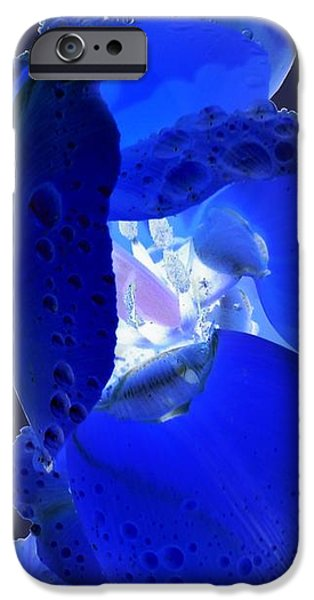 iPhone 6 Case - Magical Flower I - Blue Velvet by Orphelia Aristal