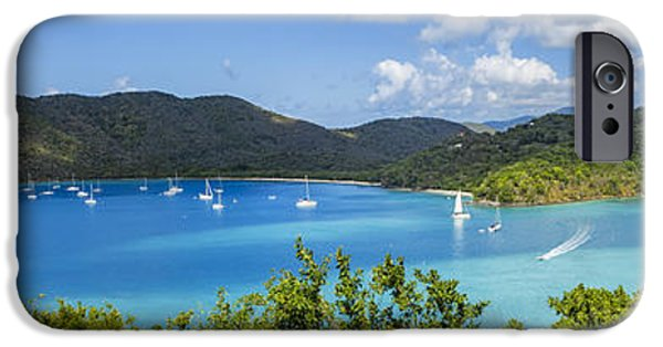 IPhone 6 Case featuring the photograph Maho And Francis Bays On St. John, Usvi by Adam Romanowicz