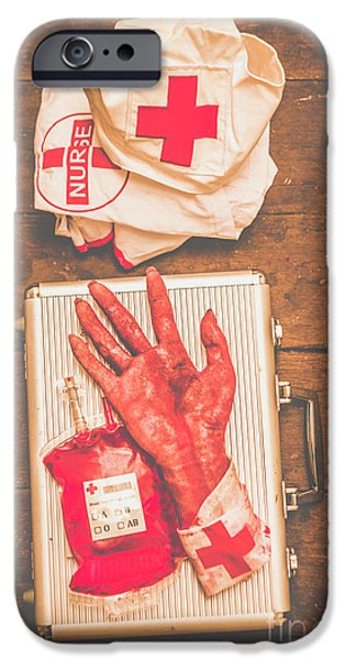 Donation iPhone 6 Case - Make Your Own Frankenstein Medical Kit  by Jorgo Photography - Wall Art Gallery