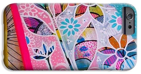 iPhone 6 Case - Making #meadori Style #artjournals by Robin Mead