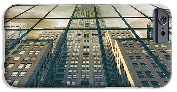 IPhone 6 Case featuring the photograph Manhattan Reflected by Jessica Jenney